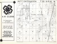 Ontonagon T50N-R41W, Ontonagon County 1959